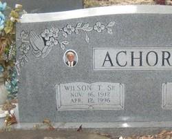 Wilson Thomas Achord, Sr