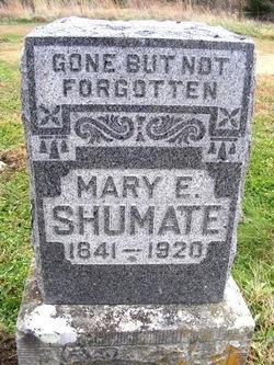 Mary E <i>Skidmore</i> Shumate