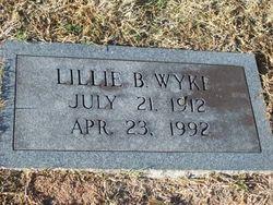 Lillie B Wyke