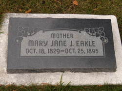 Mary Jane <i>Johnson</i> Eakle