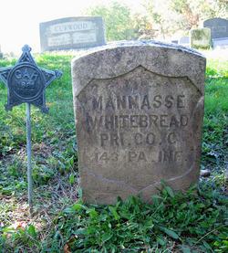 Pvt Mannasse Whitebread