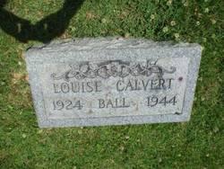 Louise <i>Calvert</i> Ball