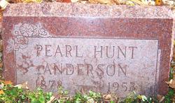 Pearl Hunt Anderson