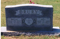 Willie <i>Wagster</i> Drury