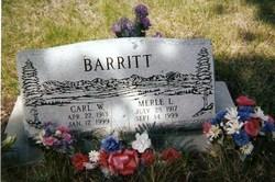 Merle <i>Croxton</i> Barritt
