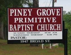 Piney Grove Primitive Baptist Church Cemetery