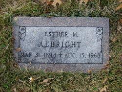 Esther M Albright