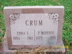 Edna T. <i>Potter</i> Crum