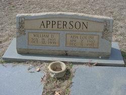 Ada Louise <i>Turner</i> Apperson