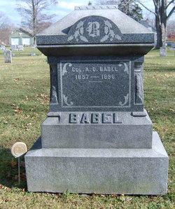 Col Amandus Oscar A. O. Babel