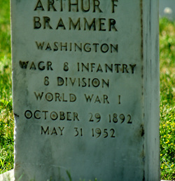 Arthur F Brammer