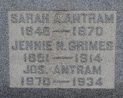 Joseph Elliott Antram