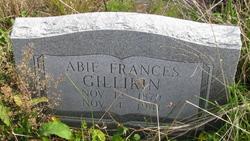 Abie Frances <i>Gillikin</i> Gillikin