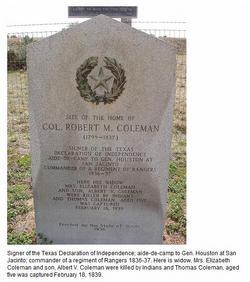 Col Robert M Coleman