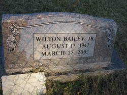 Wilton Bailey, Jr