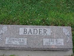 Juanita L <i>Gaither</i> Bader