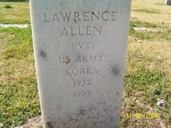 Pvt Lawrence Allen
