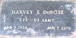 Edmond Harvey DuBose