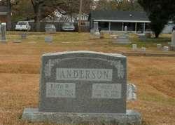 Ruth W <i>Williams</i> Anderson