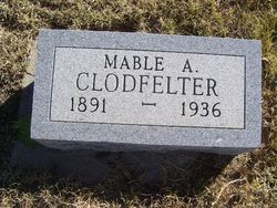Mable Ann <i>Rice</i> Clodfelter