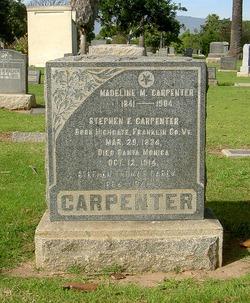 Madeline M. <i>Webb</i> Carpenter