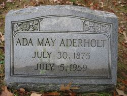 Ada May Aderholt