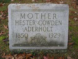 Amanda Hester <i>Cowden</i> Aderholt
