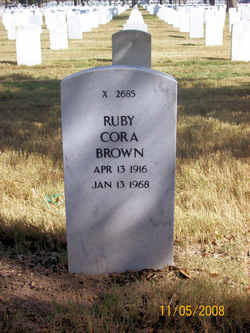 Ruby Cora Brown