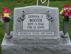 Donna Jean <i>McDaniels</i> Booth