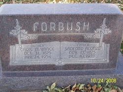 Caddie Maria <i>Vance</i> Forbush