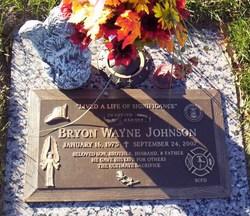 Lieut Bryon Johnson