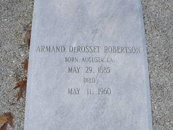 Armand DeRosset Robertson