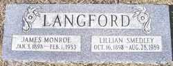 Lillian <i>Smedley</i> Langford