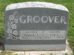 Anna Laura <i>Coombs</i> Groover
