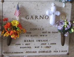 Josiah Donald Garno