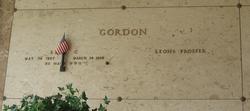 Earl C Gordon