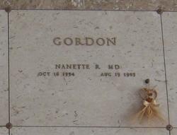 Nanette R Gordon