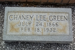 Chaney Lee <i>Whitlock</i> Green