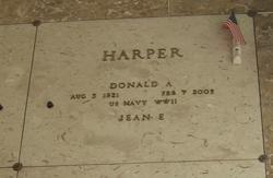 Donald A Harper