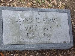 Lennis H Adams