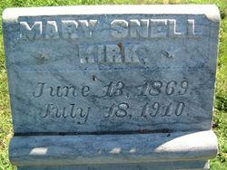 Mary <i>Snell</i> Kirk