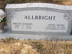 Bruce Powers Allbright
