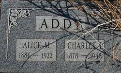 Alice Mageline <i>Stonebraker</i> Addy