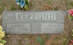 Annie <i>Timmons</i> Reppond