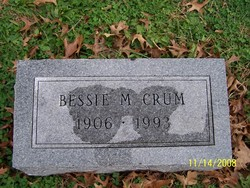 Bessie M. <i>York</i> Crum