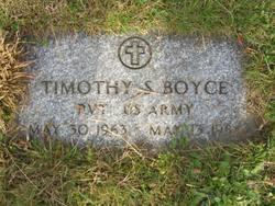 Timothy S Boyce