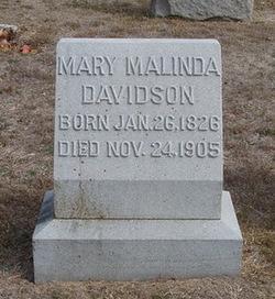 Mary Malinda Bonnie <i>Fly</i> Davidson