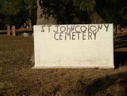 Saint John Colony Cemetery