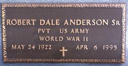 Robert Dale Bob Anderson, Sr