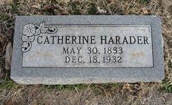 Catherine <i>Morton</i> Harader